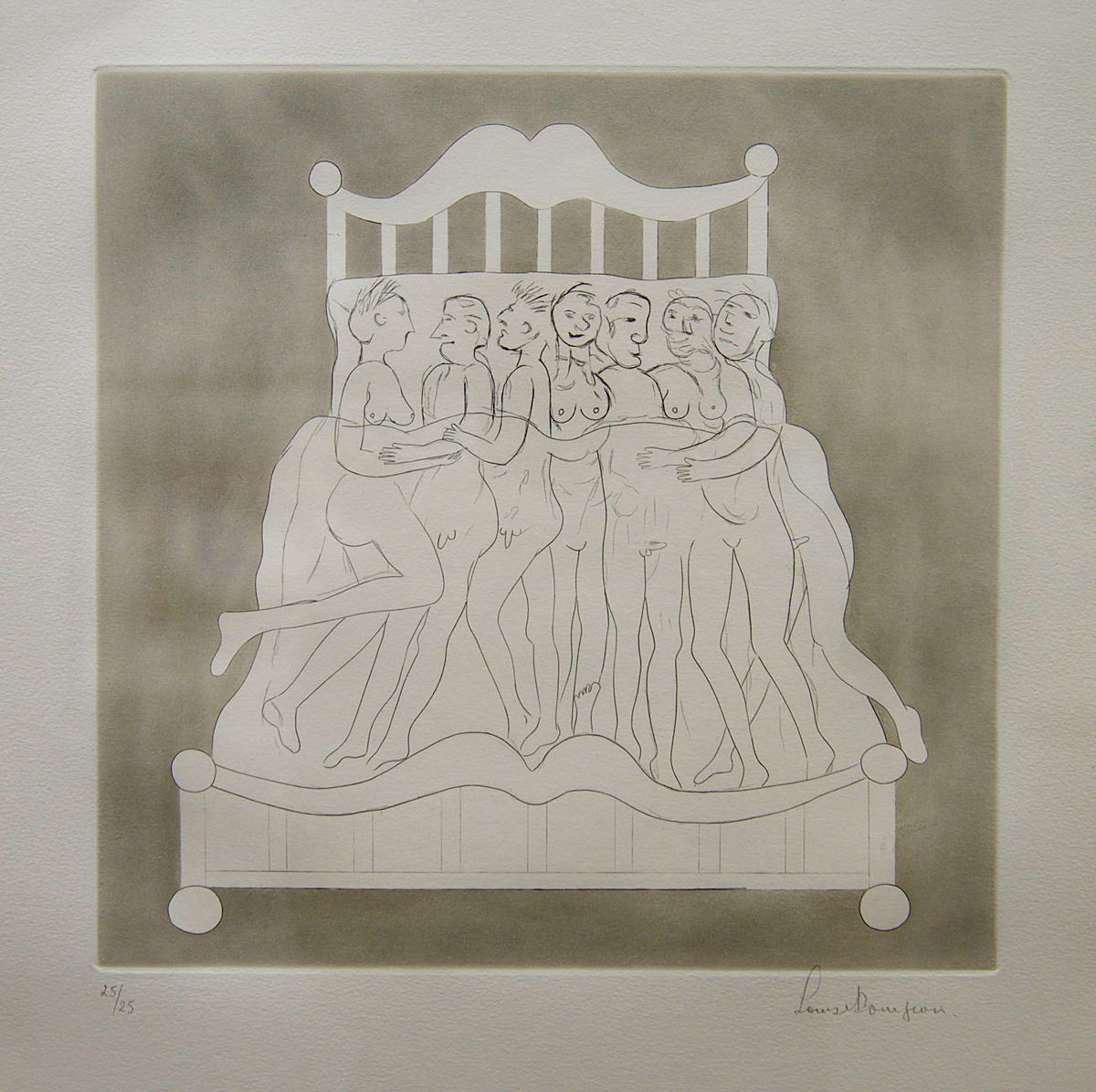 Bourgeois, Louise - Metomorphasis VI (Group Bed)