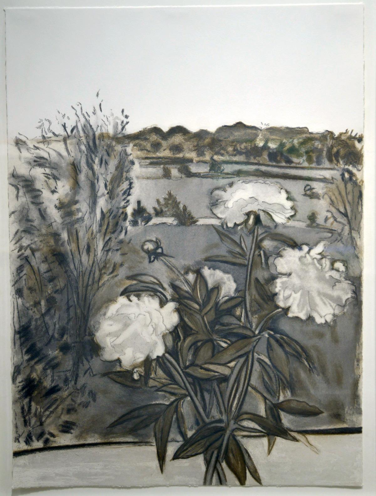 Freilicher, Jane - Still-Life Peonies (1990)