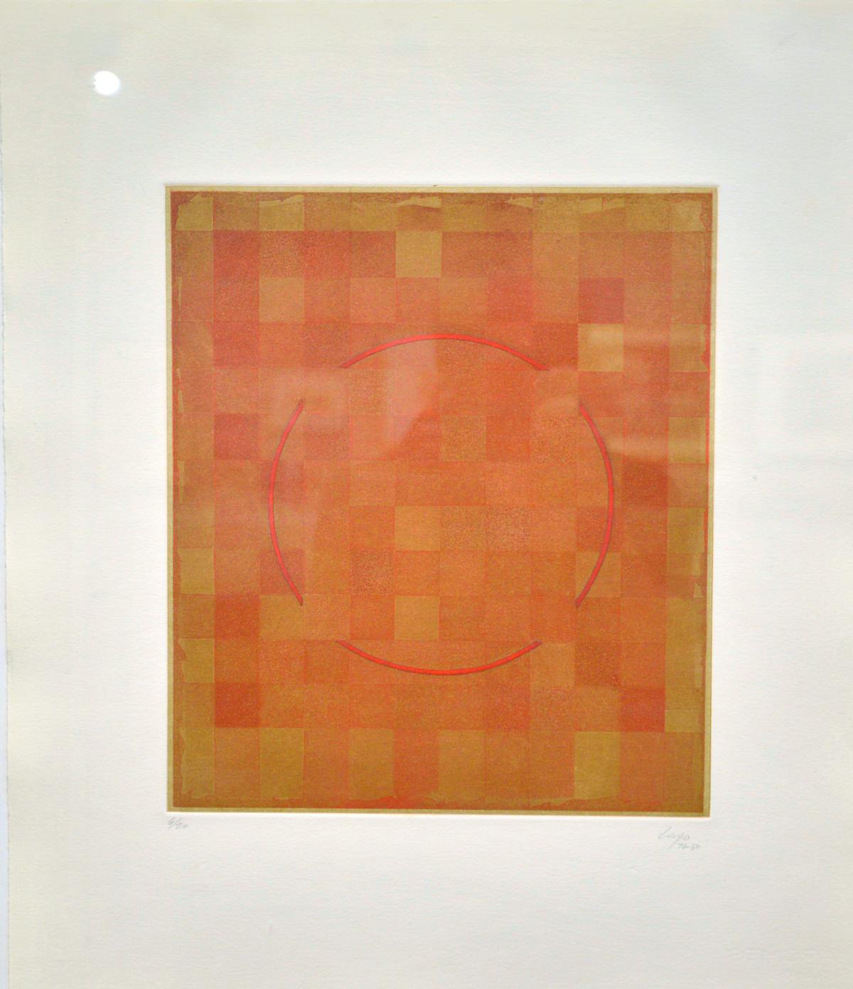 Longo, Vincent - Untitled (With broken red floating circle)