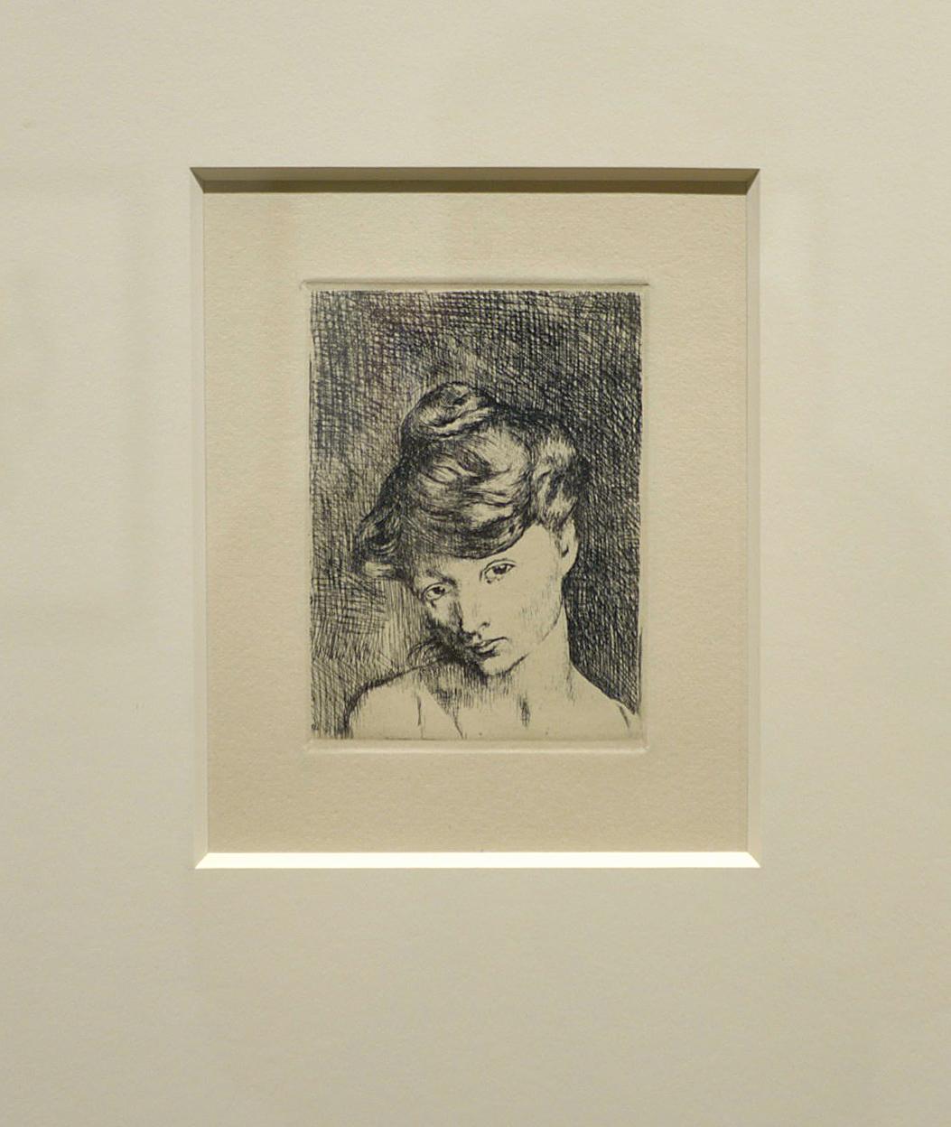 Picasso, Pablo - B0002 Tête de Femme, 1905 (January)