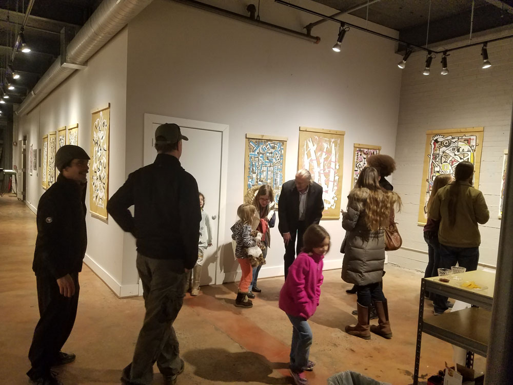 Bill Saari at Alexander Heath-Contemporary, February 1, 2019