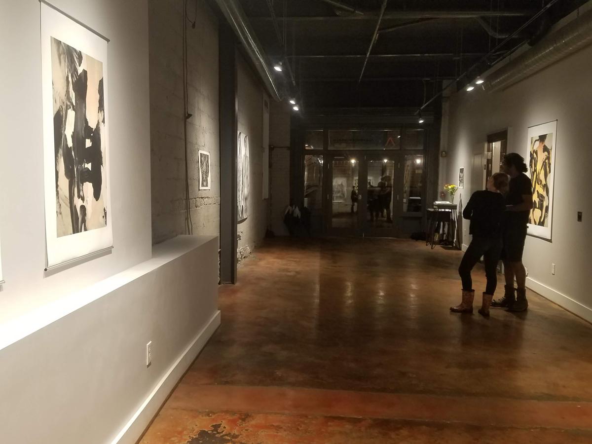 Katy Martin & Diana Quinby at Alexander/Heath Contemporary, Roanoke, Virginia