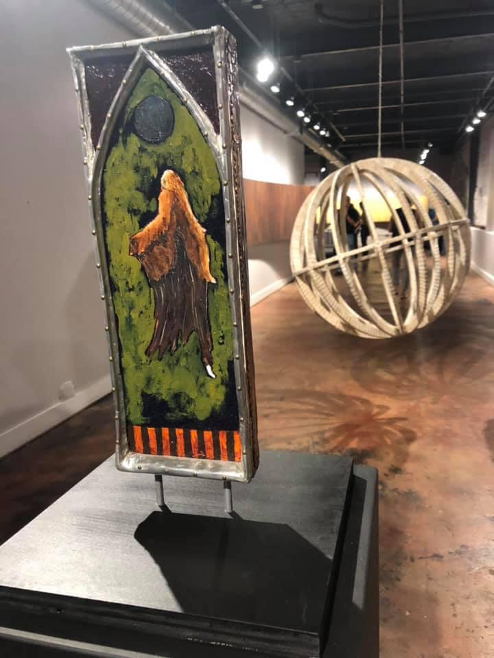 Rob Humphreys Exhibition - Alexander Heath Contemporary Roanoke Virginia USA DePuy Photo