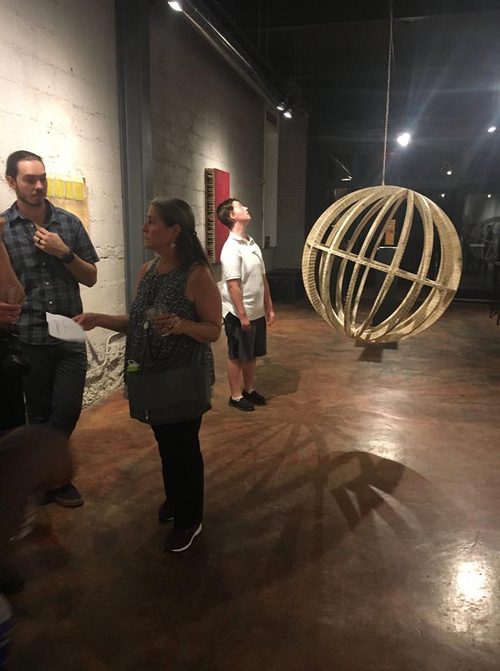 Rob Humphreys Exhibition - Alexander Heath Contemporary Roanoke Virginia USA Devine Photo