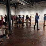 Atmospheres Exhibition at Alexander/Heath Contemporary September 2021 Roanoke VA - Opening