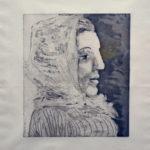 Picasso, Pablo - B0324 Buste de Femme au Fichu, 1939