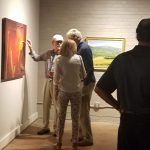 South Roanoke Artists - Budd, Fitzpatrick, Harkrader & Wellborn at Alexander Heath Contemporary - Roanoke VA